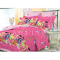 Подростковый комплект постельного белья Viluta поплин Винкс Winx