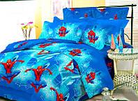 Підлітковий комплект постілної білизни поплін Вилюта людина павук Человек паук Spider man