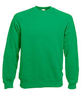 ТОЛСТОВКА РЕГЛАН CLASSIC RAGLAN SWEAT (Цвет Ярко-зеленый;  Размер L)