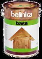 Грунтовка антисептик для защиты древесины Belinka Base 5 л