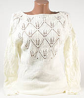 Кофта свитер женский 813 белый 46-48 (M-L)