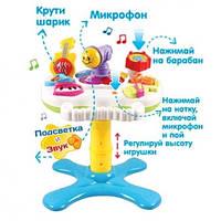 """Развивающая музыкальная игрушка Музыкальный столик """"Оркестр"""" Joy Toy Логика 7193 """"Активный малыш"""""""