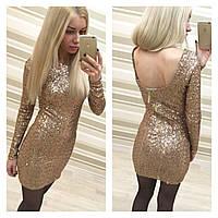 Женское платье клубное
