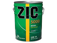 Масло моторное Zic X7 Diesel (5000 и RV) 10W-40 20л