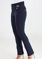 Классические узкие брюки   на байке, фото 1