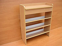 Обувница открытая (шкаф, тумба для обуви) АС-мебель