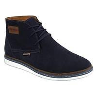 Зимние мужские замшевые ботинки KONORS