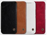 [ NILLKIN HTC One M9 ] Кожаный чехол-книжка для смартфона НТС