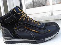 Кожаные ботинки на зиму Columbia