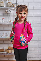 Кофта для девочки малина, фото 1