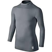 Детская термо футболка NIKE Pro Combat Hyperwarm Mock Long Sleeve