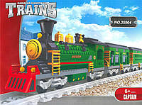 Конструктор Ausini Поезд: Пассажирский поезд, 665 деталей арт. 25904