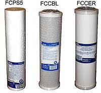 Комплект сменных картриджей для фильтров воды 3шт №4