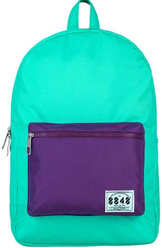 Яркий молодежный вместительный рюкзак 15 л. URBANSTYLE, 057 берюзовый