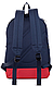 Практичный молодежный вместительный рюкзак 15 л. URBANSTYLE, 053 синий, фото 3