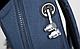 Практичный молодежный вместительный рюкзак 15 л. URBANSTYLE, 053 синий, фото 5