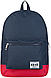 Практичный молодежный вместительный рюкзак 15 л. URBANSTYLE, 053 синий, фото 2