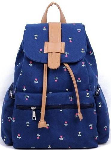 Женский молодежный вместительный рюкзак 12 л. URBANSTYLE, 025 синий