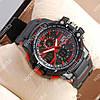 Яркие спортивные наручные часы Casio D-1365A Black/Red 6055