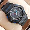 Надежные наручные спортивные часы Casio GA-5255 Black/Blue 6076