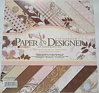 Бумага для скрапбукинга 40 листов
