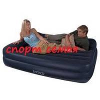 Кровать надувная Intex 66720 (163 х 208 х 47 см) с электро-насосом