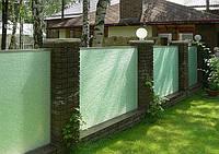 Стеклянный забор ограждения из стекла