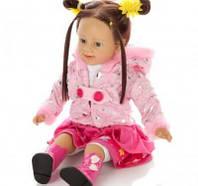 Интерактивная кукла Танюша, TG1048054, 62см, разъем usb,  работа от батареек, подарочная коробка