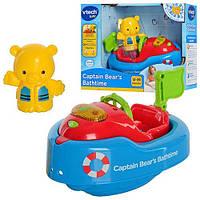 Игрушка для купания Мишка в катере VTech 151703