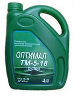 Моторное масло Оптимал ТМ-5-18 Супер 4л
