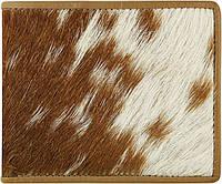 Кошелек из натуральной кожи козы с шерстью Prime Leather