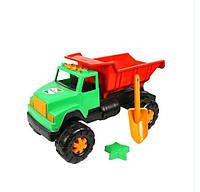 Машина «Грузовик Интер» (с маленькими лопаткой и формочкой для песка)