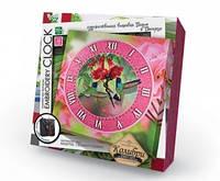 """Набор для творчества """"Embroidery clock"""" """"Колибри"""""""