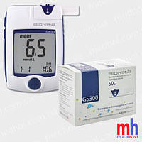 Глюкометр Бионайм 300 (Bionime GM300) + 50 тест-полосок Bionime GS300