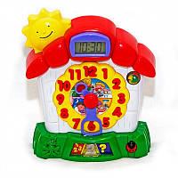 Часы знаний - игрушка развивающая говорящие часики