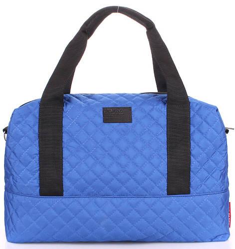 Яркая стеганая женская сумка POOLPARTY Swag swag-brightblue синяя