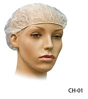 Полиэтиленовая шапочка для душа Lady Victory (120 шт. в упаковке) LDV CH-01 /18-2