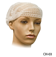 Косметологическая шапка для волос «Шарлотта» Lady Victory (100 шт. в упаковке) LDV CH-03