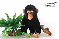 Мягкая игрушка Шимпанзе HANSA 30см