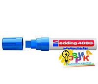 Меловой маркер синий Макси