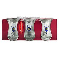 Набор стаканов для турецкого чая Pasabahce 42431 Ege прозрачные 6 шт 135мл