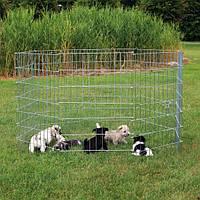 Вольер переносной с дверью 8/60х91см для собак и др. мелких животных
