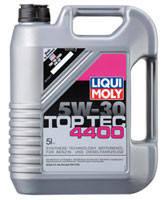 Моторное масло синтетика LIQUI MOLY 5W-30 5L Top Tec 4400 для Renault , Mercedes-Benz