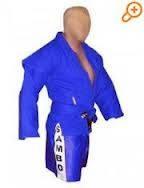 Кимоно самбо синее. Matsa.