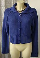 Кофта женская модная теплая зима акрил бренд Mk р.48-50 4276