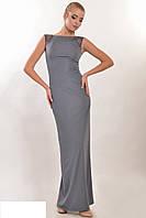 Элегантное вечернее платье спинка наполовину открытая Размеры: 42, 44, 46, 48, 50, 52
