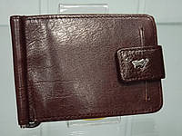 Стильный кожаный кардхолдер с зажимом для купюр BRAUN BUFFEL 6004