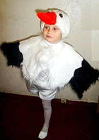 Дитячий новорічний костюм Журавля/Аиста