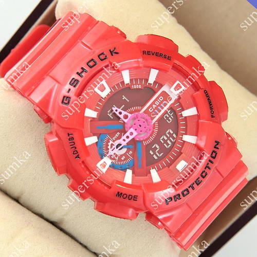 Спортивные наручные часы G-Shock GA-110 Red 1006-0218