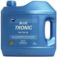 Масло aral bluetronic 10w 40  Германия Синтетика 4 Л (VW 501 00/505 00 )